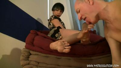 Licking Dirty Piss Covered Feet