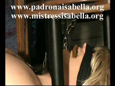 Isabella tortures and degrades Carlotta