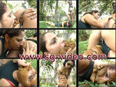 Mistress Natalia punishes her pretty slave